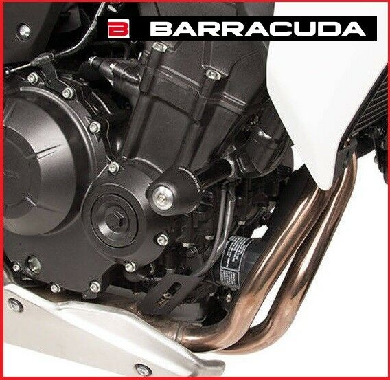COPPIA TAMPONI PARAMOTORE BARRACUDA HONDA CB 500 F  CB 500F 2016 2018 16 18