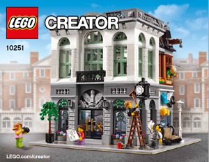 ~~LEGO CREATOR 10251 INSTRUCTION MANUAL ONLY