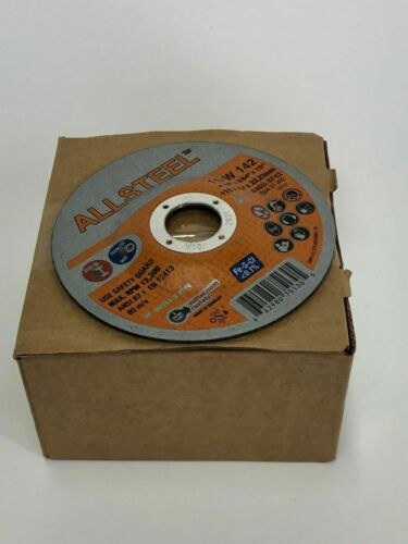 """PACK OF 50 50 WALTER 11-W142 ALL STEEL 4-1//2/"""" X 3//64/"""" X 7//8/"""" TYPE 27"""