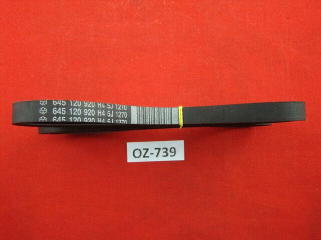 AEG Electrolux Fan Belt 645 120 920 H4 5J 1270 #OZ-739