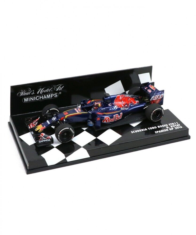 Nuovo MInichamps 1/43 Scuderia Toro Rosso STR11 Spanish GP 2016 Kvyat  from Japan