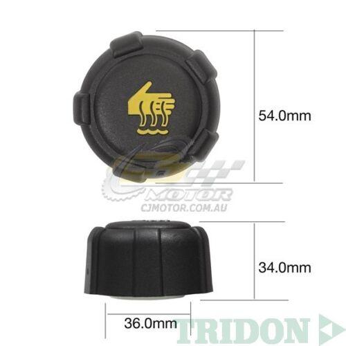 TRIDON RADIATOR CAP FOR Suzuki Grand Vitara Diesel JTJB419WD 08//08-06//11 4 1.9L