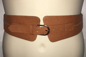 Express-Belt-Womens-Small-Medium-Large-Tan-NWT-39-90