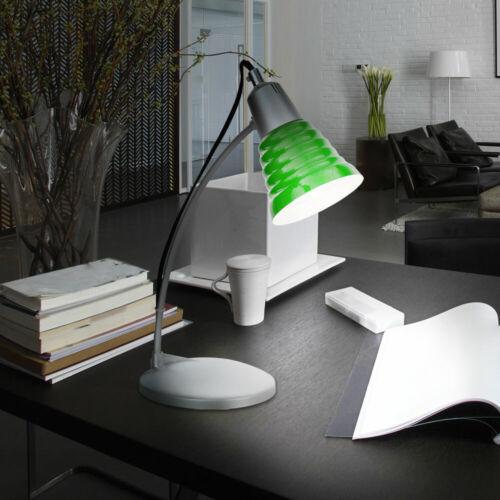 Schreib Tisch Lampe Leuchte Büro Beleuchtung Kinder Zimmer Nachttisch grün Diele
