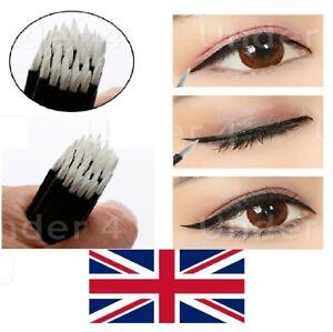 50-USA-E-GETTA-Eyeliner-BACCHETTE-Eye-Liner-Spazzole-APPLICATORE-Cosmetici-Make-strumenti