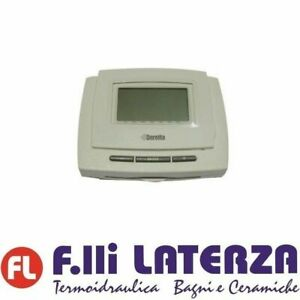 Beretta-Thermostat-Programmable-RC05-Controle-Distance-10021057-Chaudiere-Meteo