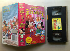 DISNEY - MINI CLASSICS - THE PRINCE AND THE PAUPER - VHS VIDEO