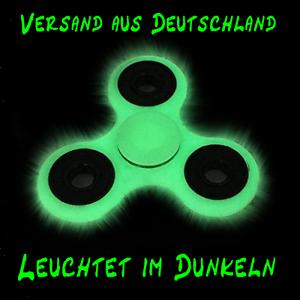 Fidget Spinner Leuchtet im Dunkeln Nacht Hand Licht Finger Neon Glow In The Dark