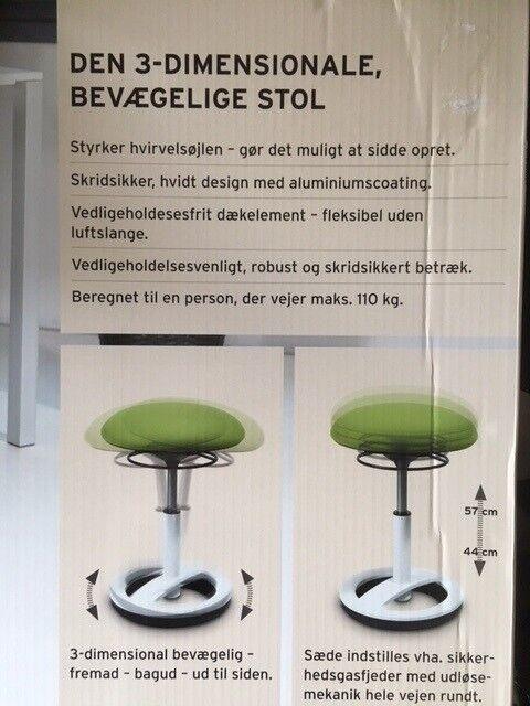 3 dimensionale stol