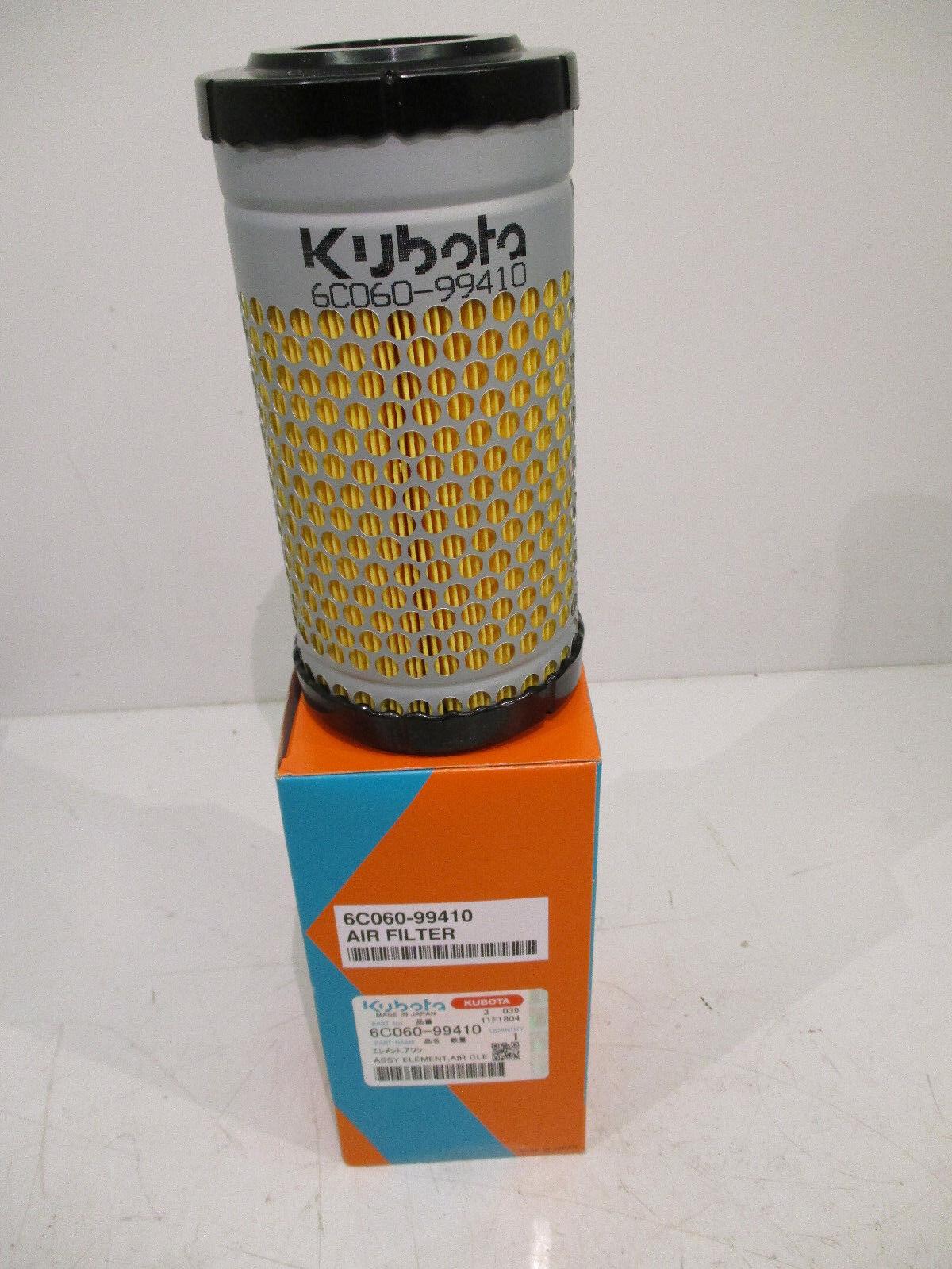 Kubota B2301 Tractor Air Filter Element 6C06099410 - K731183390 (Genuine)