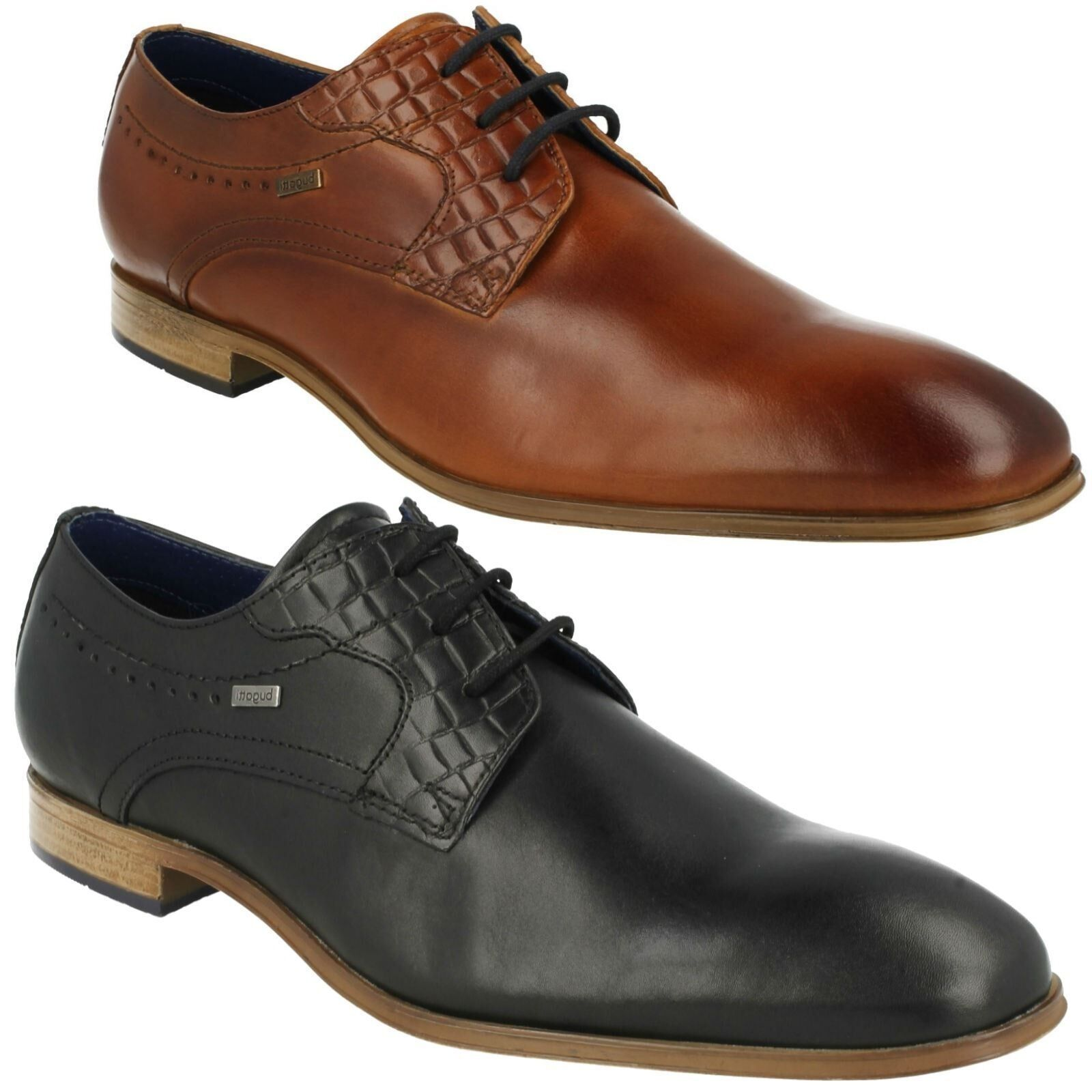 MENS BUGATTI LEATHER LACE UP SMART FORMAL INTERVIEW INTERVIEW INTERVIEW WEDDING SHOES 311-25202 ab05e3