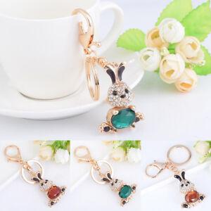 AU-Cy-ALS-AU-Fashion-Colorful-Keychain-Rhinestone-Decor-Rabbit-Pendant-Key-C