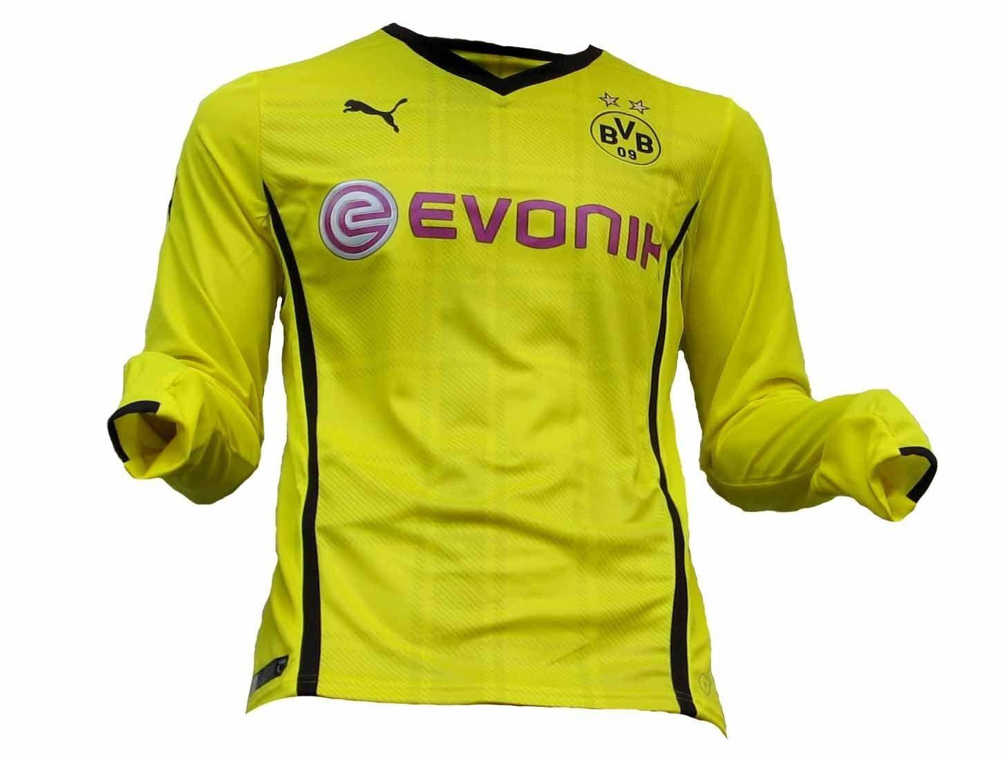 Borussia Dortmund BVB Trikot  Langarm Longsleeve 2013 14 Puma L XL XXL 3XL  discount store