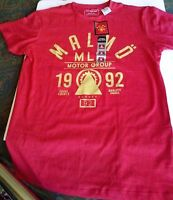 Cedar Wood State / Primark 'malmö Motor Group' Sweden Graphic T-shirt S Red