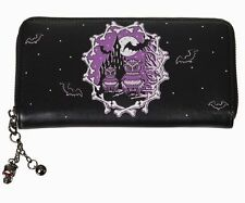 Secret Obsession Owl Purse Banned Apparel Day of the Dead Emo Gothic Wallet