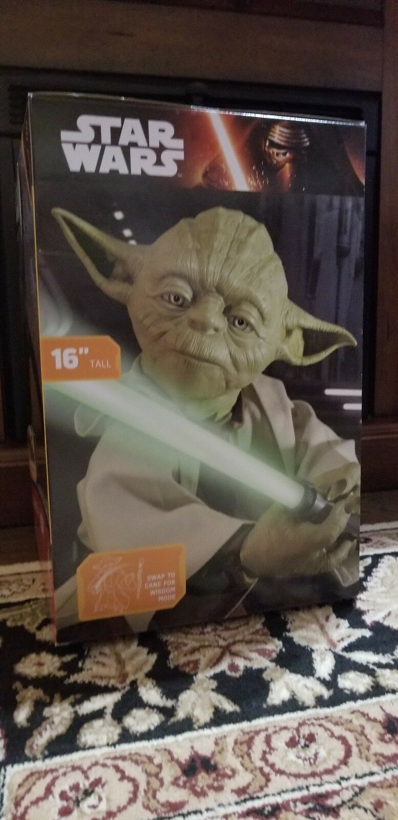 New STAR WARS LEGENDARY YODA  16 INCH TRAIN TO TO TO BE A JEDI SPIN MASTER .. 78bf6a