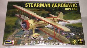 Revell-Stearman-Aerobatic-1-48-scale-airplane-model-kit-new-5269