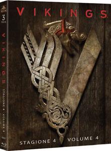 Vikings-Stagione-4-Parte-1-Cofanetto-Con-3-Blu-Ray-Nuovo-Sigillato
