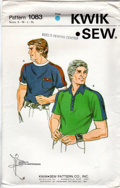 CHOICE: Kwik Sew by Kerstin Martensson Patterns: Men's Clothing