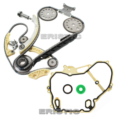 Fits 00-11 2.0L 2.2L 2.4L GM Ecotec Timing Chain w// Gasket /& Balance Shaft Set