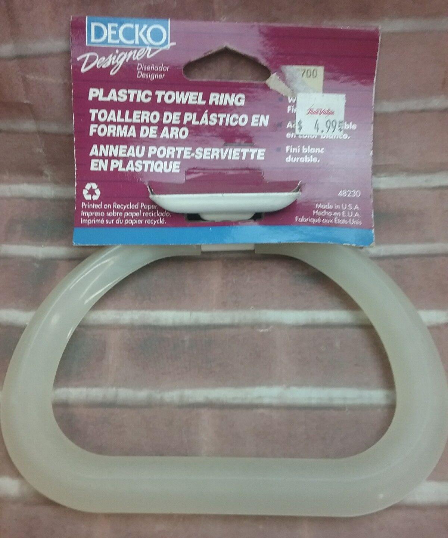 Decko 48230 Plastic Towel Ring