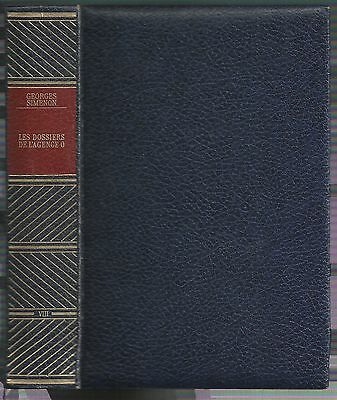 Maigret - Les Dossiers De L Agence O -  Simenon - Rencontre 1967