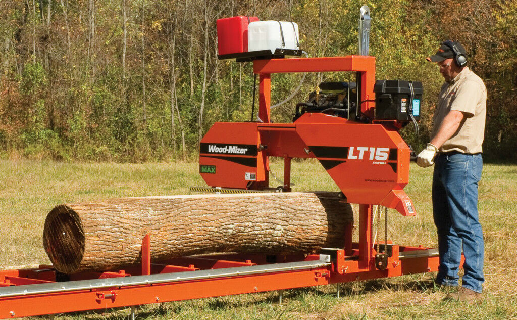 Wood-Mizer LT15 Portable Band Sawmill - 19HP with Power Feed