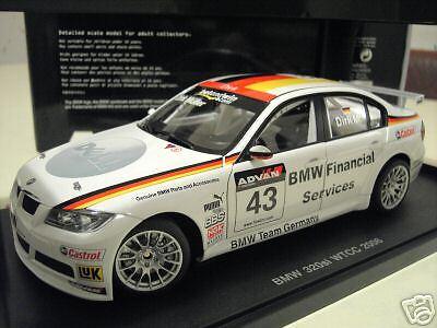 BMW 320Si WTCC 2006 D.MULLER  43 1 18 AUTOart 80648 voiture miniature collection