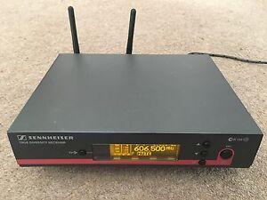 Sennheiser Wireless Receiver : sennheiser em100 ew100 g3 wireless receiver ch38 uk legal ebay ~ Hamham.info Haus und Dekorationen