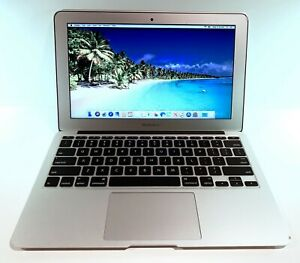 APPLE-MACBOOK-AIR-11-6-034-128GB-SSD-8GB-RAM-1-3GHz-i5-FAIR-FREE-CASE