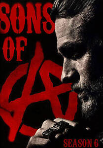 Sons Of Anarchy Season Six Dvd 2014 5 Disc Set For Sale Online Ebay