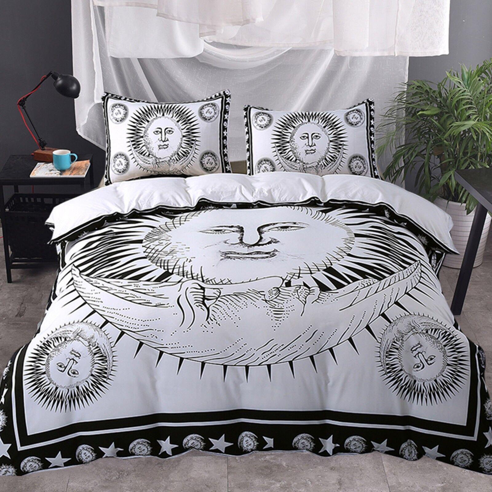3D Sun God 4005 Bett Pillowcases Quilt Duvet Startseite Set Single Königin CA