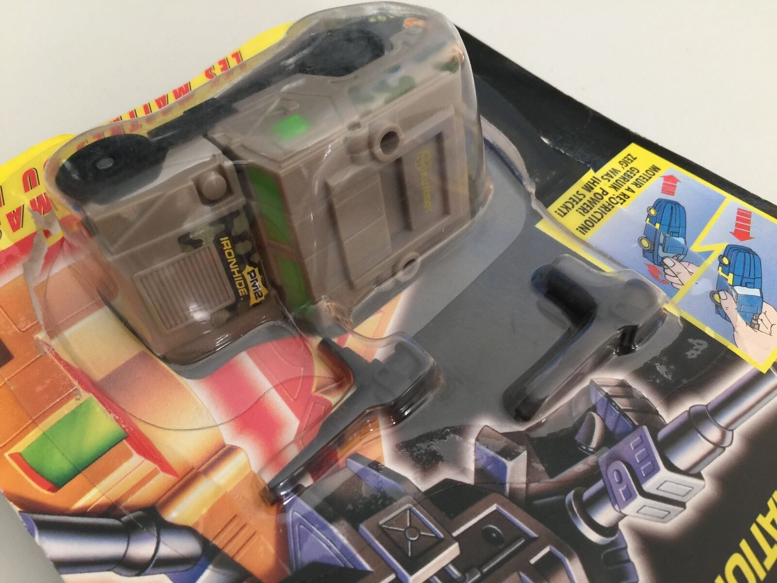 Transformers G2 1994 IRONHIDE MOC MOC MOC completare energiamasters cifra EUROPEAN hasbro 1476e2