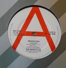"MONTELLAS - Protection ~ 12"" Single PROMO"