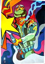 US TECHNO DRONE SOLDIER - CUBA OSPAAAL POSTER 1971 -  CLASSIC ORIGINAL RARE