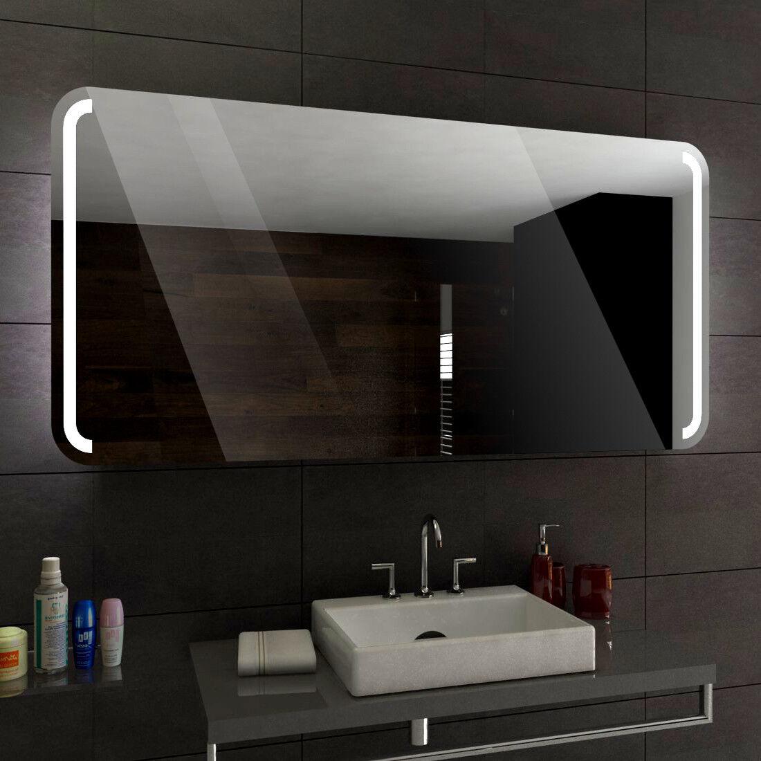 Oslo éclairé del Miroir salle de Bain Led personnalisé taille versions
