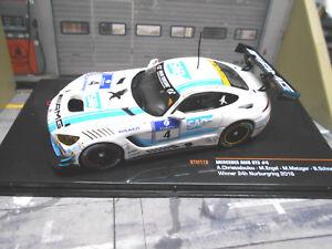MERCEDES AMG GT3 24h Nürburgring 2016 Winner #4 SAP Schneider Engel IXO 1:43