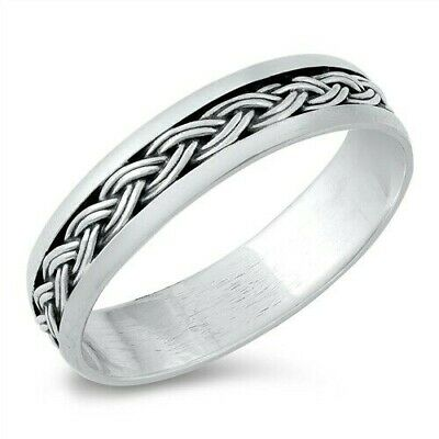 USA Seller Bali Design Band Sterling Silver 925 Best Jewelry Selectable Abalone