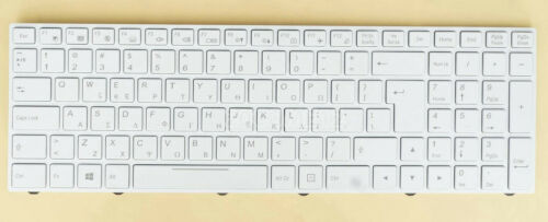 New For Clevo P955EE6 N350DW Sager NP6850 NP8154 keyboard White backlit Greek