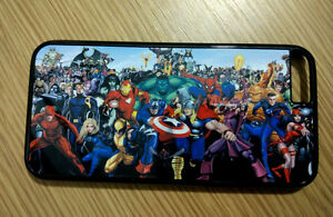 For-iPhone-iPod-Touch-Sony-Samsung-Phone-Marvel-Superheroes-Back-Hard-Case
