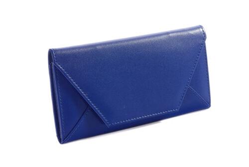 Women Envelope Bag Ultra-thin Handbag Soft PU Purse High-end Long Wallet US Sell