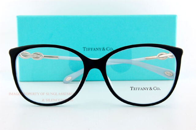 8f3d2988bd8 Tiffany   Co. Eyeglass Frames 2143b 8055 Black Sz 55 Women for sale ...