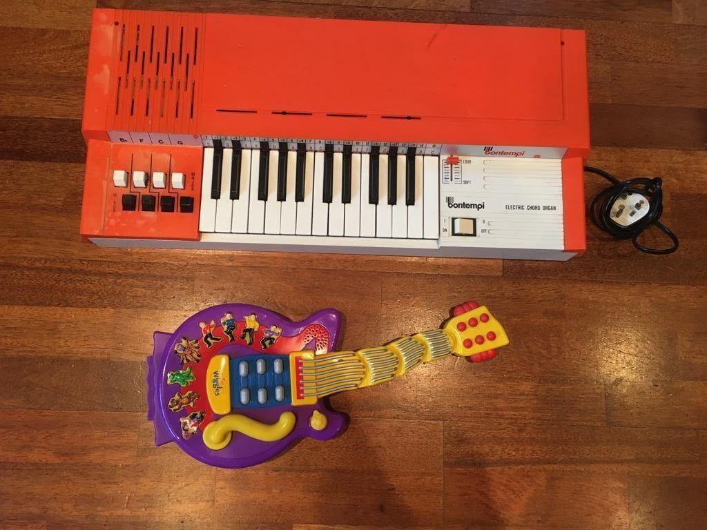 Guitarra de batería y teclado niños Electic