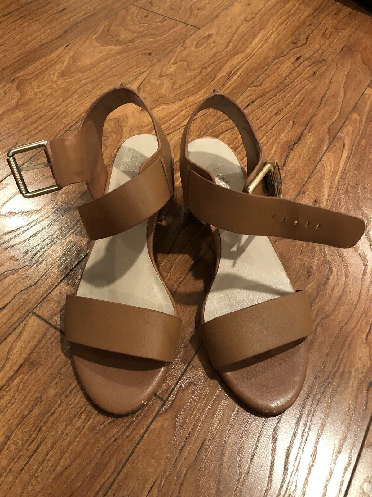 Charles By Sandals Charles David Block Heel Sandals By - Size 5.5 4d215a