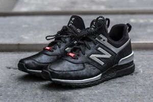 premium selection bc7a6 a5b5c Details about 10 D New Balance Shoes Marvel Black Panther 574 Sport Limited  Edition MS574BKP