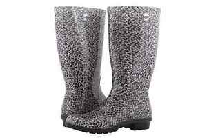 41ecee3ac17 UGG Australia Shaye Leopard Black Rainboot Women s U.S. Whole sizes ...