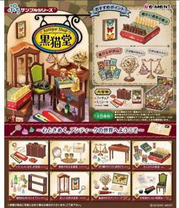 Re-Ment Petit sample series Antique Shop Kuronekodou  8 type set Japan import