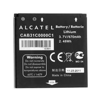 NEW OEM Alcatel CAB31C0000C1 Battery for OneTouch 606 606A 606C & T-Mobile Sparq