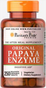 Puritan-039-s-Pride-Papaya-Enzyme-250-Chewables