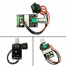 Dc Motor Speed Switch Controller 3a 10v 12v 24v Control Reversible Pwm Yu